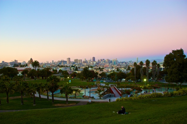 Joe Sterne Photography, California, Northern California, San Francisco, misson dolores park