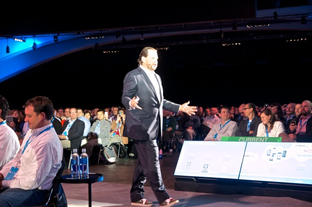 Joe Sterne Photography, Dreamforce 2012, #df12, Moscone Center, San Francisco,Marc Benioff