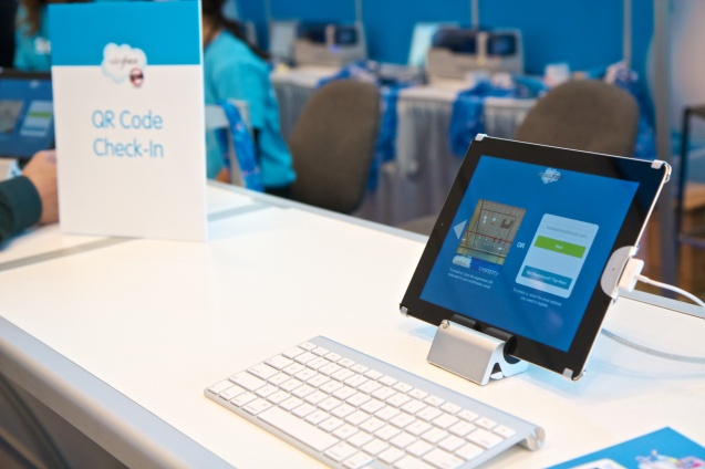 Joe Sterne Photography, Dreamforce 2012, #df12, Moscone Center, San Francisco,QR Code