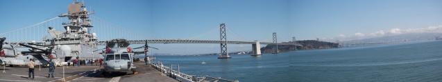 LHD-8, Aircraft Carrier, Marines, US Military, Fleet Week, San Francisco, panoramic