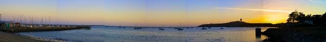 Joe Sterne Photography, Half Moon Bay, Bay Area, California, Beach, sunset, panoramic