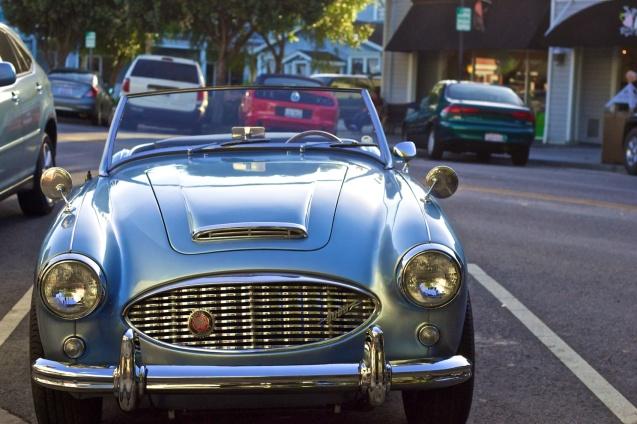 Joe Sterne Photography, Half Moon Bay, Bay Area, California, Beach, vintage car