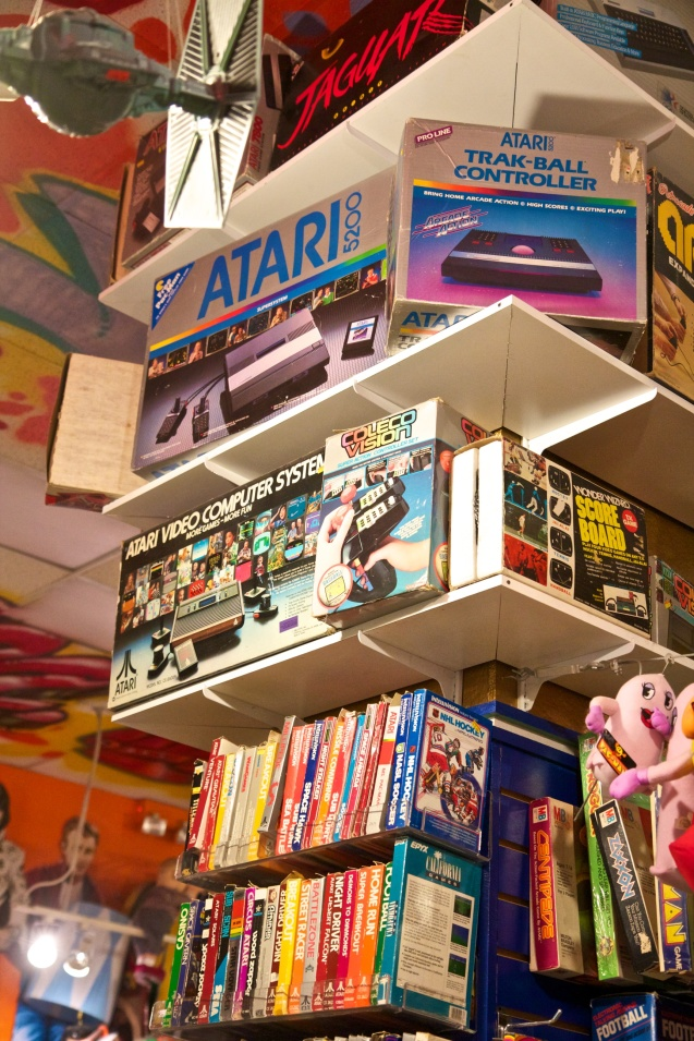 Joe Sterne Photography, Cleveland, Ohio, Big Fun Toys, Toys, Toy Store, Nintendo, Atari, SNES