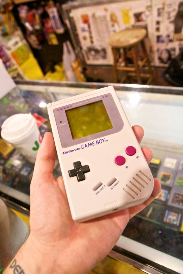 Joe Sterne Photography, Cleveland, Ohio, Big Fun Toys, Toys, Toy Store, Nintendo, gameboy