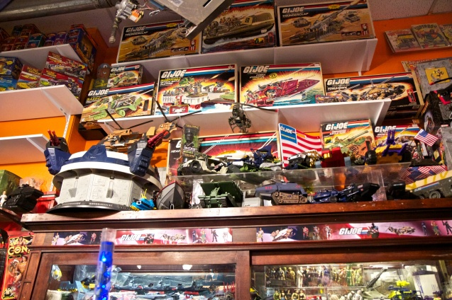 Joe Sterne Photography, Cleveland, Ohio, Big Fun Toys, Toys, Toy Store,GI JOE