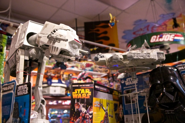 Joe Sterne Photography, Cleveland, Ohio, Big Fun Toys, Toys, Toy Store, Star wars