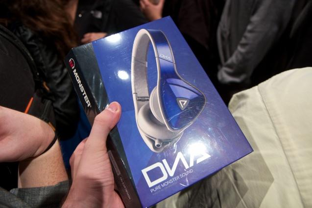 gdgt, san francisco, tech trade show, the Meteron, Monster DNA headphones