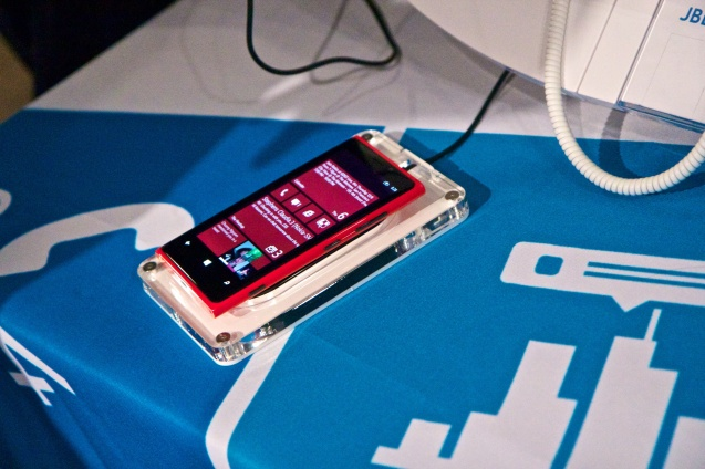 gdgt, san francisco, tech trade show, the Meteron, nokia, windows phone