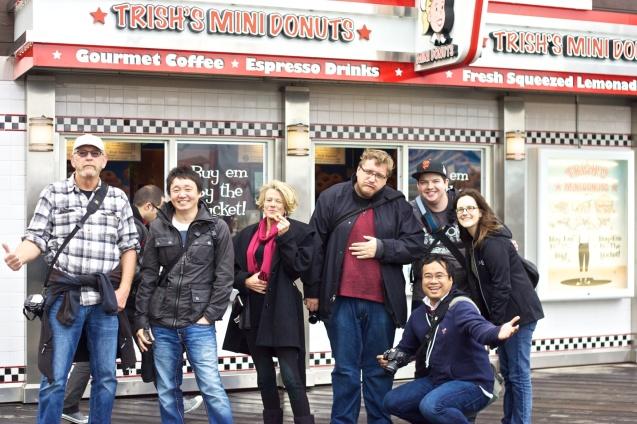DonutQuest, San francisco, google sf, donuts, foodie, photowalk, the photowalk alliance