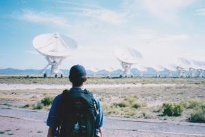 Joe Sterne Photography, VLA, very large array, new mexico, boy scouts of Amercia