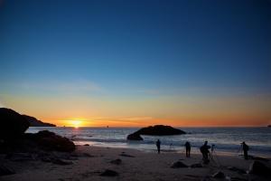 San Francisco, Joe Sterne Photography, Bay Bridge, Marshall Beach, Sunset, West Coast