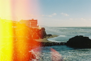 Joe Sterne Photography, Kodak iso800, 35mm film, canon ae-1, sutro baths, san francisco