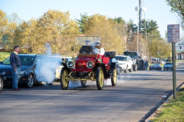joe Sterne photography, cars and coffee, great falls va, east coast, car culture, Stanley steamer