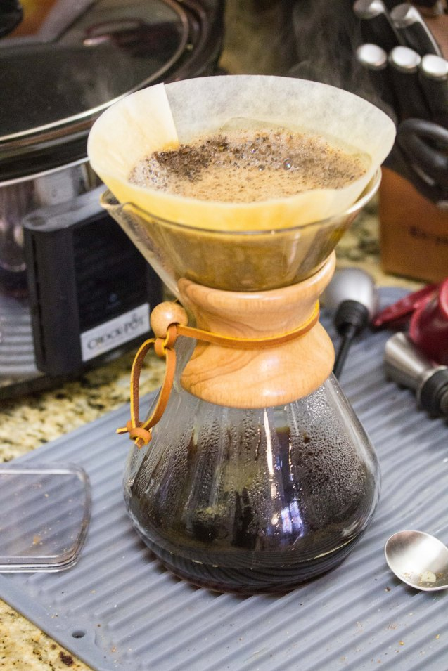 four barrel coffee, chemex, joe sterne, not so sterne photography