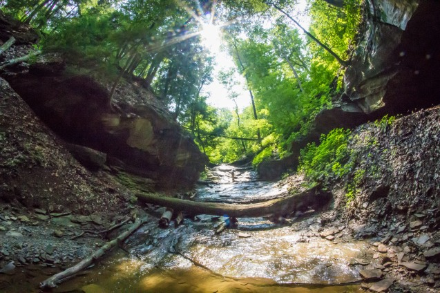 joe sterne, chagrin river, cleveland, not so sterne photography, squaw rock