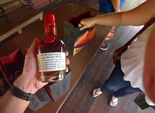 joe sterne, maker's mark, loretto kentucky, bourbon trail, not so sterne photography, bourbon whiskey