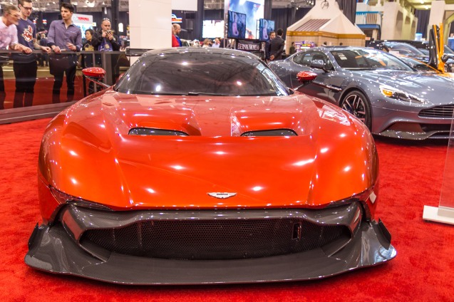cleveland auto show, joe sterne, not so sterne photography, ix center, aston martin vulcan