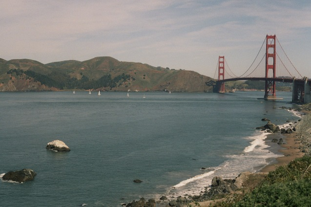 #projectfilm, 35mm film, california, baker beach, san francisco bay